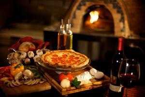 Mozzarella - Pizza a la leña