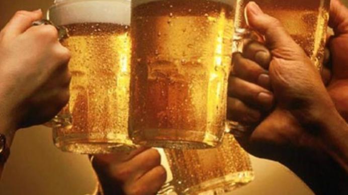Medium cerveza